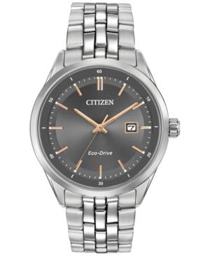 Citizen Men's Eco-Drive Stainless Steel Bracelet Watch 41mm
