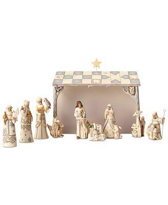 Jim Shore Woodland Mini Nativity Set