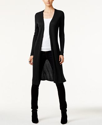 INC International Concepts Ribbed Duster Cardigan, Created for ...
