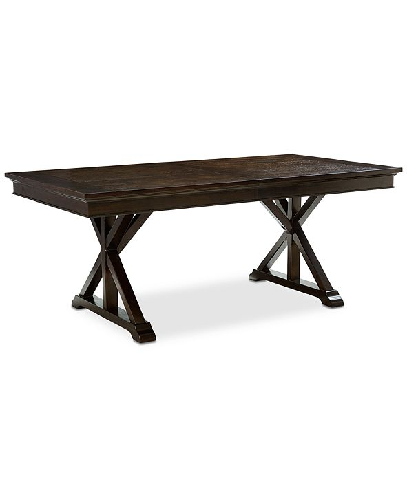 Furniture Baker Street Expandable Dining Trestle Table