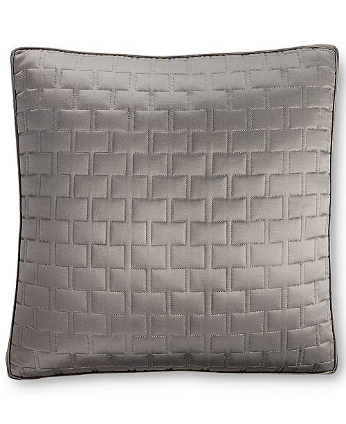 Hotel Collection Frame European Quilted Sham - Bedding Collections ...