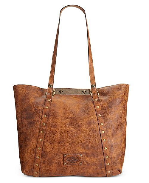 3ec81fd02 Patricia Nash Distressed Leather Vintage Benvenuto Tote & Reviews ...