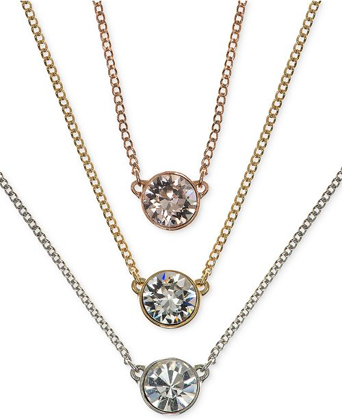 6f2a34fa09c27 Crystal Pendant Necklaces