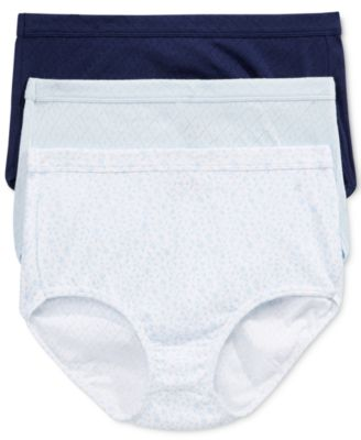 Image of Jockey Elance Breathe 3-Pk. Cotton Briefs 1542