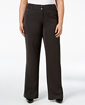 048a10e8612 Alfani Plus   Petite Plus Size Curvy-Fit Slimming Bootcut Pants