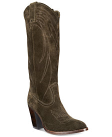 Frye Ilana Pull On Cowboy Boots