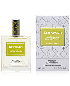 Pour le Monde EMPOWER 100% Certified Natural Eau de Parfum, 1.7 oz