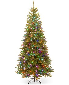 7.5' Feel Real® Tree With LED Lights
