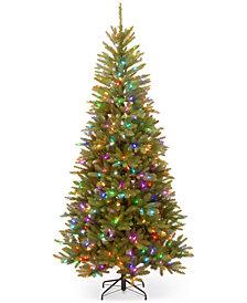 National Tree Company 7.5' Feel Real® Tree With LED Lights