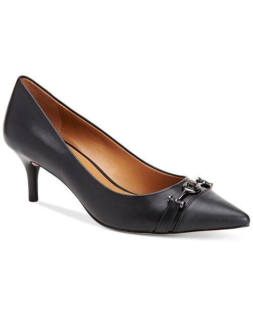 7ce17e7be72 COACH Lauri Pointed-Toe Pumps   Reviews - Pumps - Shoes - Macy s
