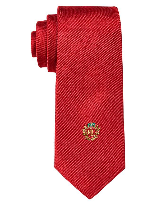 Lauren Ralph Lauren - Boys' Solid Crest Tie