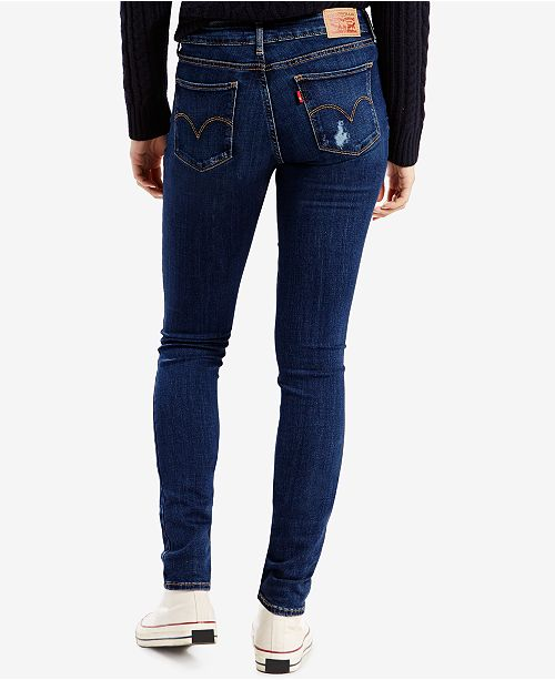 0bc51f43382 Levi's 711 Ripped Skinny Jeans & Reviews - Jeans - Women - Macy's