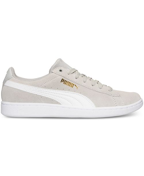 ca6a7d200e2c Puma Women s Vikky Canvas Casual Sneakers from Finish Line   Reviews ...
