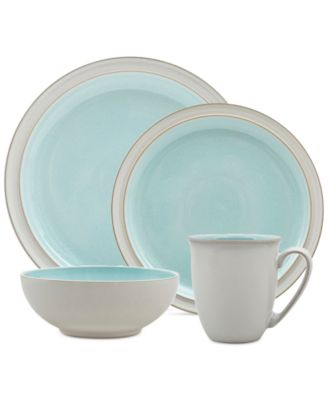 main image; main image ...  sc 1 st  Macyu0027s & Denby 4-Pc. Azure Blends Dinnerware Set - Dinnerware - Dining ...