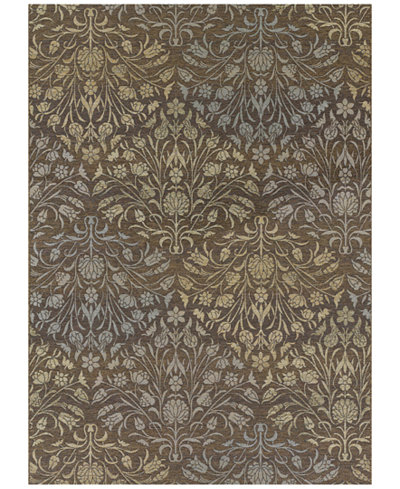Couristan Dolce Indoor/Outdoor Coppola Brown-Beige Area Rugs