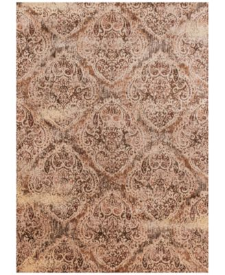 """Andreas   AF-19 Tobacco/Antique Ivory 7' 10"""" x 10' 10""""  Area Rugs"""