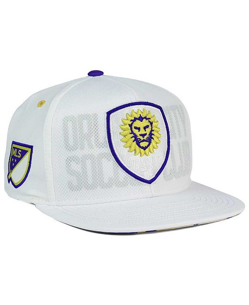 sports shoes d6d95 65a71 ... adidas Orlando City SC Authentic Team Snapback Cap ...