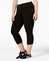 b6646c21afa37 Ideology Plus Size Cropped Leggings, Created for Macy's