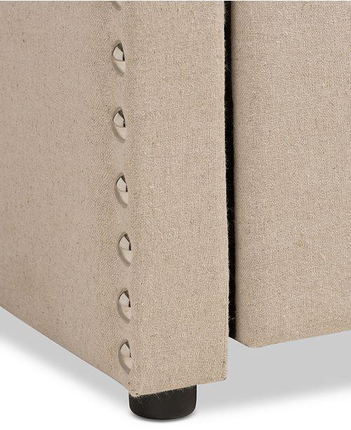 Furniture Kagen Modern & Contemporary Twin Nailheads