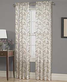 "Homewear Nisha Floral-Scroll 54"" x 95"" Panel"