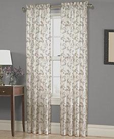 "Homewear Nisha Floral-Scroll 54"" x 95"" Panel"