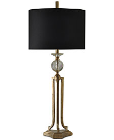 StyleCraft Vintage Gold Table Lamp