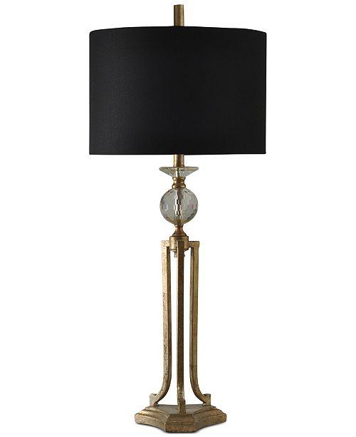 StyleCraft Vintage Gold Table Lamp