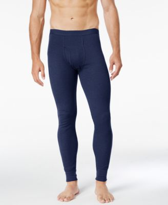 Image of Alfani Men's Base Layer Thermal Leggings, Only at Macy's