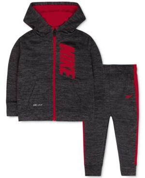 Nike Baby Boys 2Pc ZipUp Hoodie  Pants Set