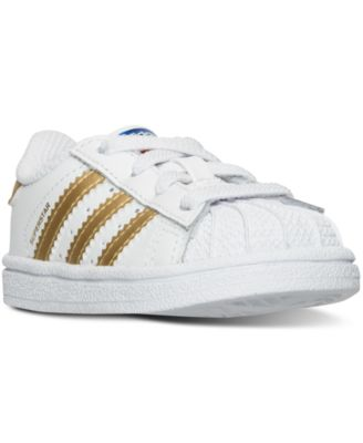 Toddler Girls' Superstar Casual Sneakers from Finish Line