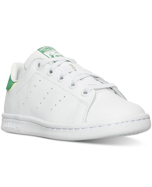 detailed look f7043 b0a97 ... adidas Little Boys  Stan Smith Casual Sneakers from Finish Line ...