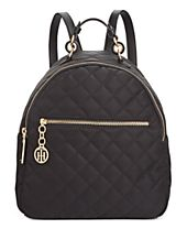 Tommy Hilfiger Isabella Quilted Nylon Dome Backpack, Created for Macy's