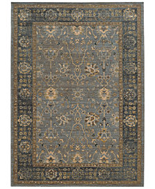 "Tommy Bahama Home Vintage 534E Blue 9' 10"" x 12' 10"" Area Rug"