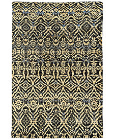 Tommy Bahama Home Ansley Jute 50904 Black Area Rug