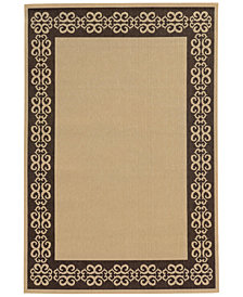 "Tommy Bahama Home Seaside Indoor/Outdoor 7127N Beige/Brown 8' 6"" x 13' Area Rug"