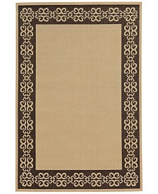 Tommy Bahama Home Seaside Indoor/Outdoor 7127N Beige/Brown Area Rugs