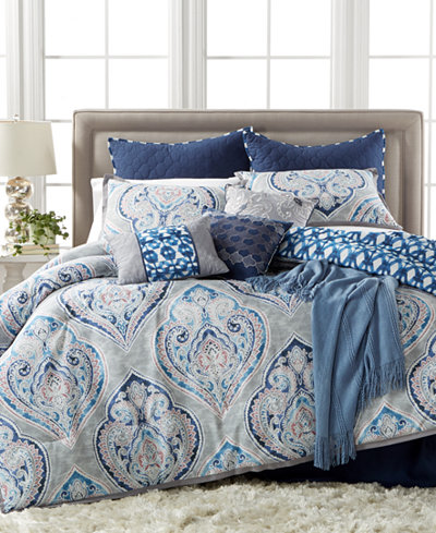 CLOSEOUT! Kelly Ripa Home Weston 10-Pc. Reversible Comforter Sets
