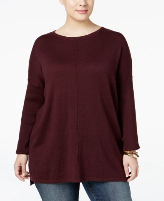 Style & Co. Plus Size Boat-Neck Sweater, Only at Macy's
