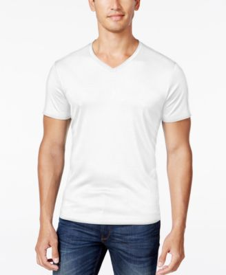 Image of Alfani Men's Soft Touch Stretch T-Shirt, Created for Macy's