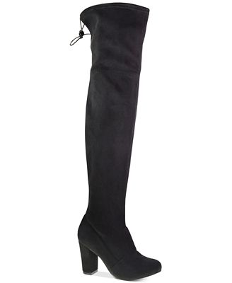 Chinese Laundry Berlin Over-the-Knee Block-Heel Boots