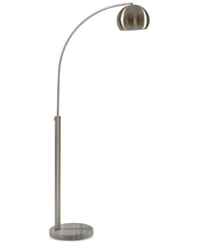 Inkivy menlo nickel floor lamp lighting lamps home macys inkivy menlo nickel floor lamp aloadofball Gallery