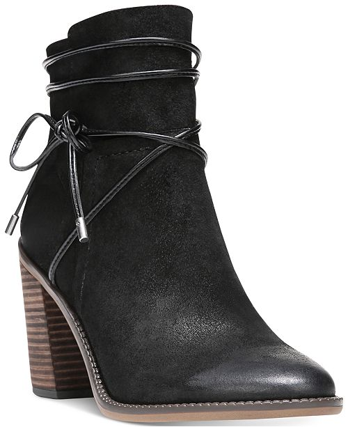 003fc03dee1c Franco Sarto Edaline Ankle Booties   Reviews - Boots - Shoes - Macy s