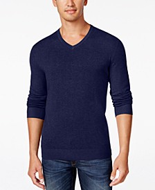 Men's V-Neck Sweater, Created for Macy's