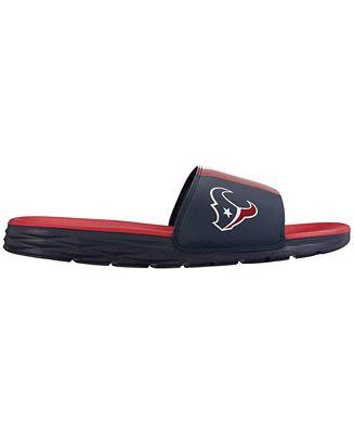 Nike Men's Houston Texans Benassi Solarsoft Slides