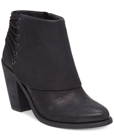 Jessica Simpson Caysy Tie-Back Booties