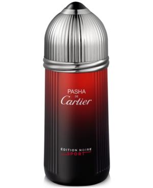 PASHA DE CARTIER EDITION NOIRE by Cartier EDT SPRAY 3.4 OZ
