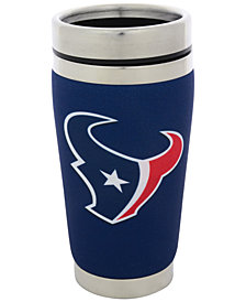 Hunter Manufacturing Houston Texans 16 oz. Stainless Steel Travel Tumbler