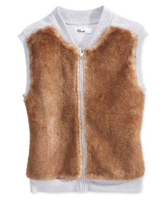 Epic Threads Faux Fur Vest, Big Girls (7-16) Only at Macy's