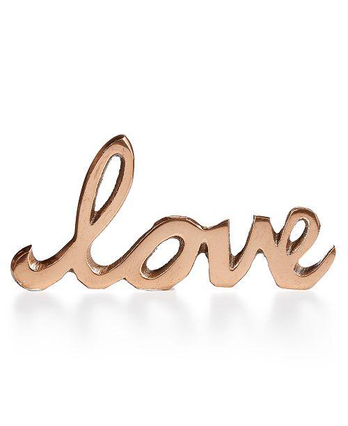 Home Design Studio Love Decorative Accent, Created for Macy's