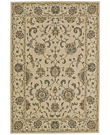 "CLOSEOUT! D Style Beacon BEA8 Ivory 3'3"" x 5'1"" Area Rug"